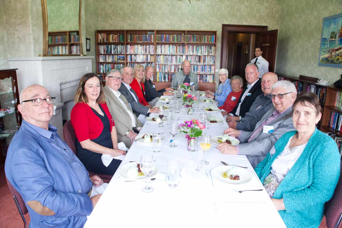 CEO hosts Aveo community lunches