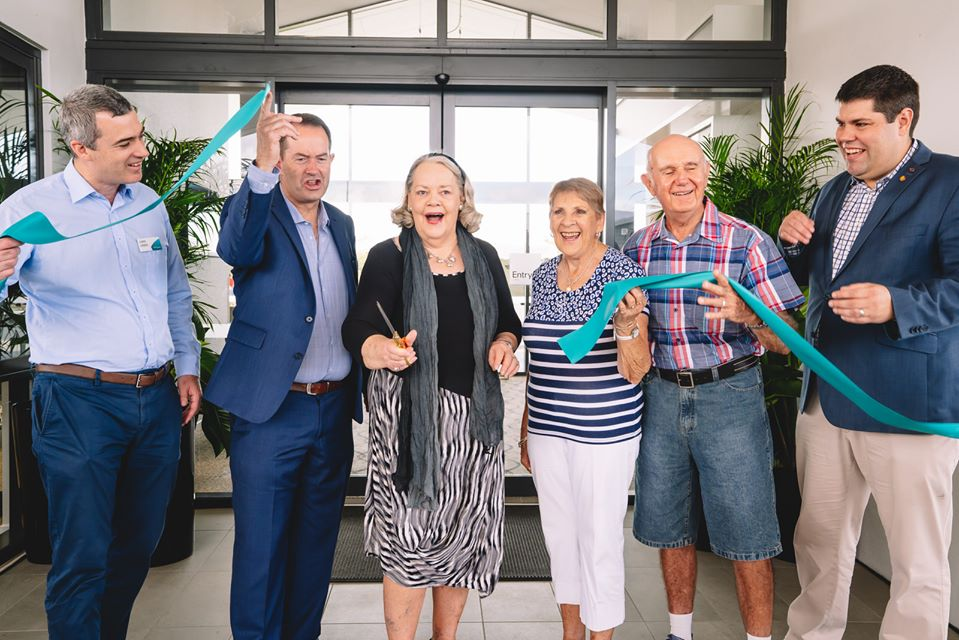 Grand opening celebrations for Aveo Palmview3
