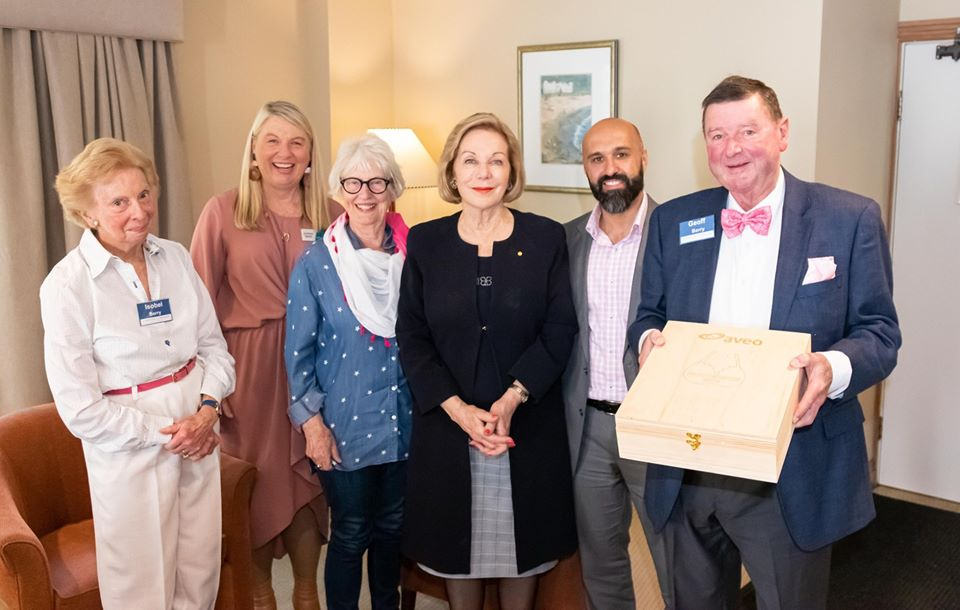 Project Pink morning tea with Ita Buttrose1