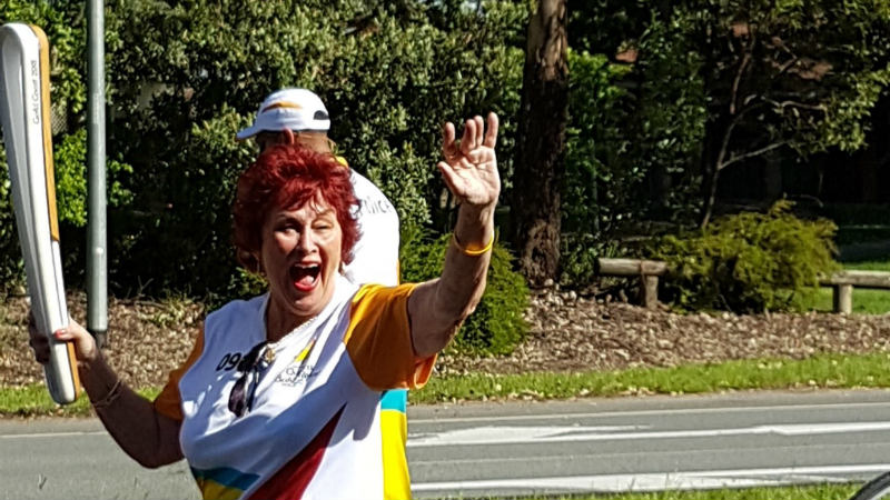 Aveo Robina resident humbled to carry the Queen's Baton