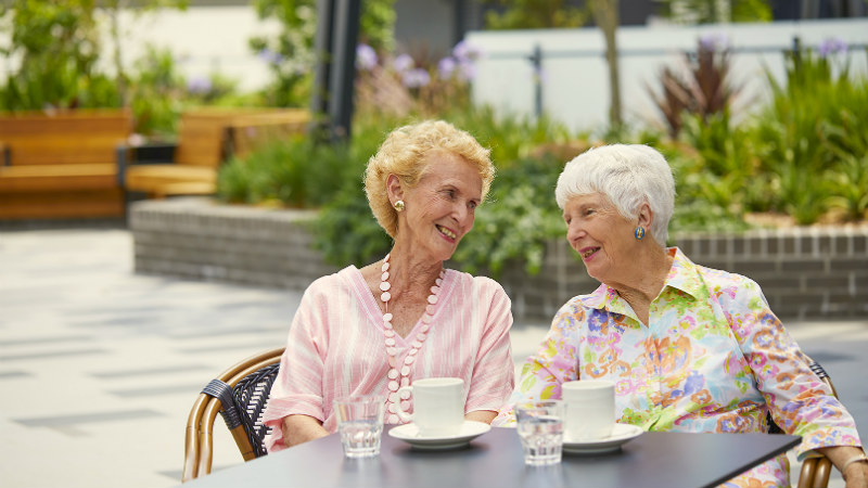 Newstead aged care ladies coffee respite 800x450