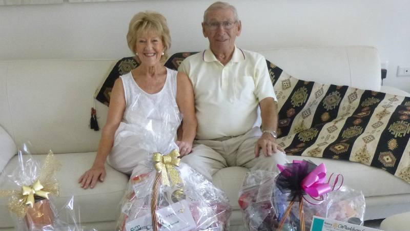 Aveo residents support Wheelchairs for Kids this Christmas