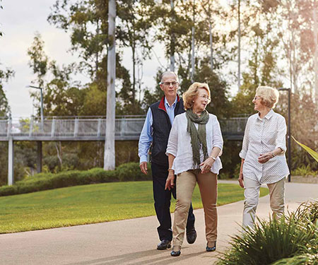 An active and social retirement