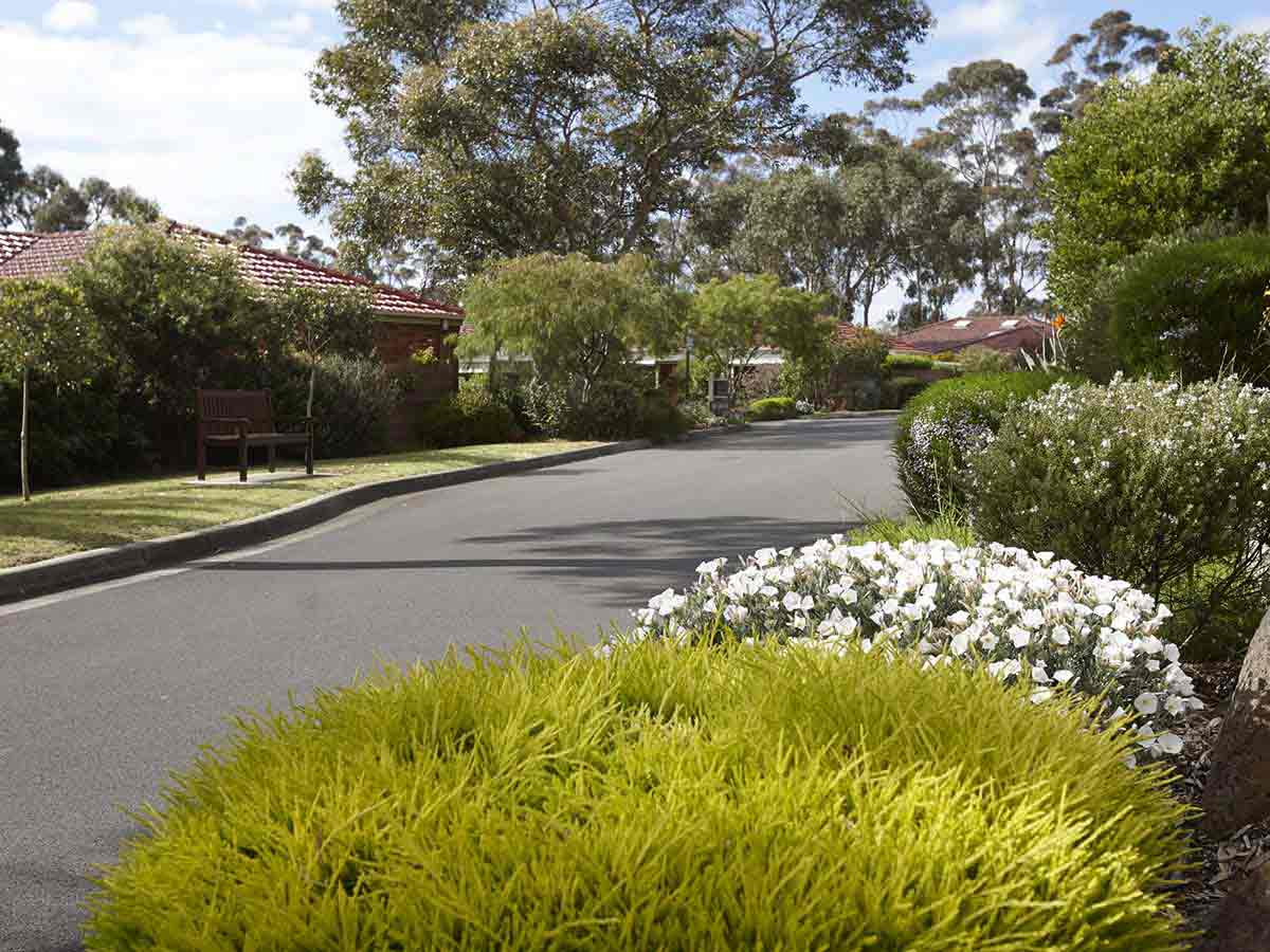 Enjoy garden surrounds throughout the community