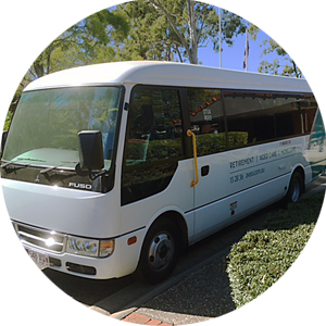 Enjoy outings on the community bus