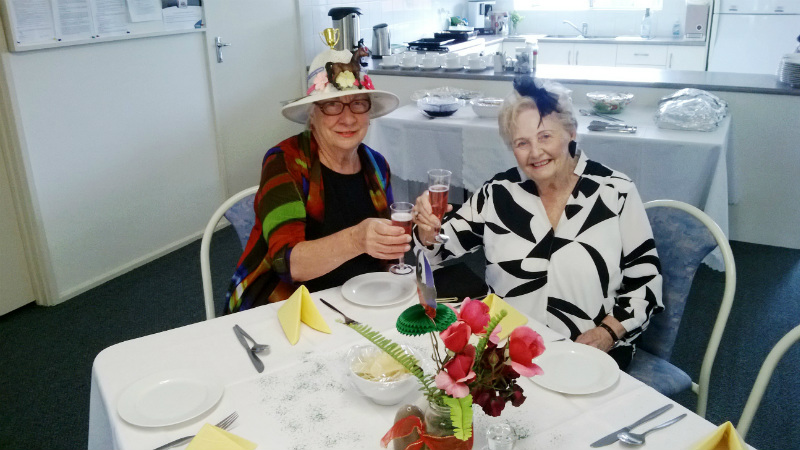 Melbourne Cup Luncheon at Aveo Leisure Court
