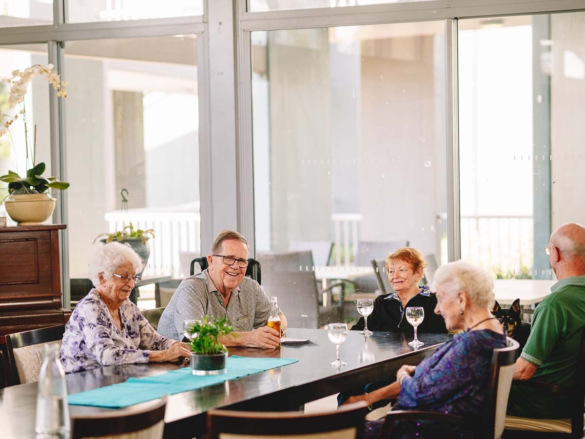 Aveo Freedom Aged Care Tanah Merah happy hour