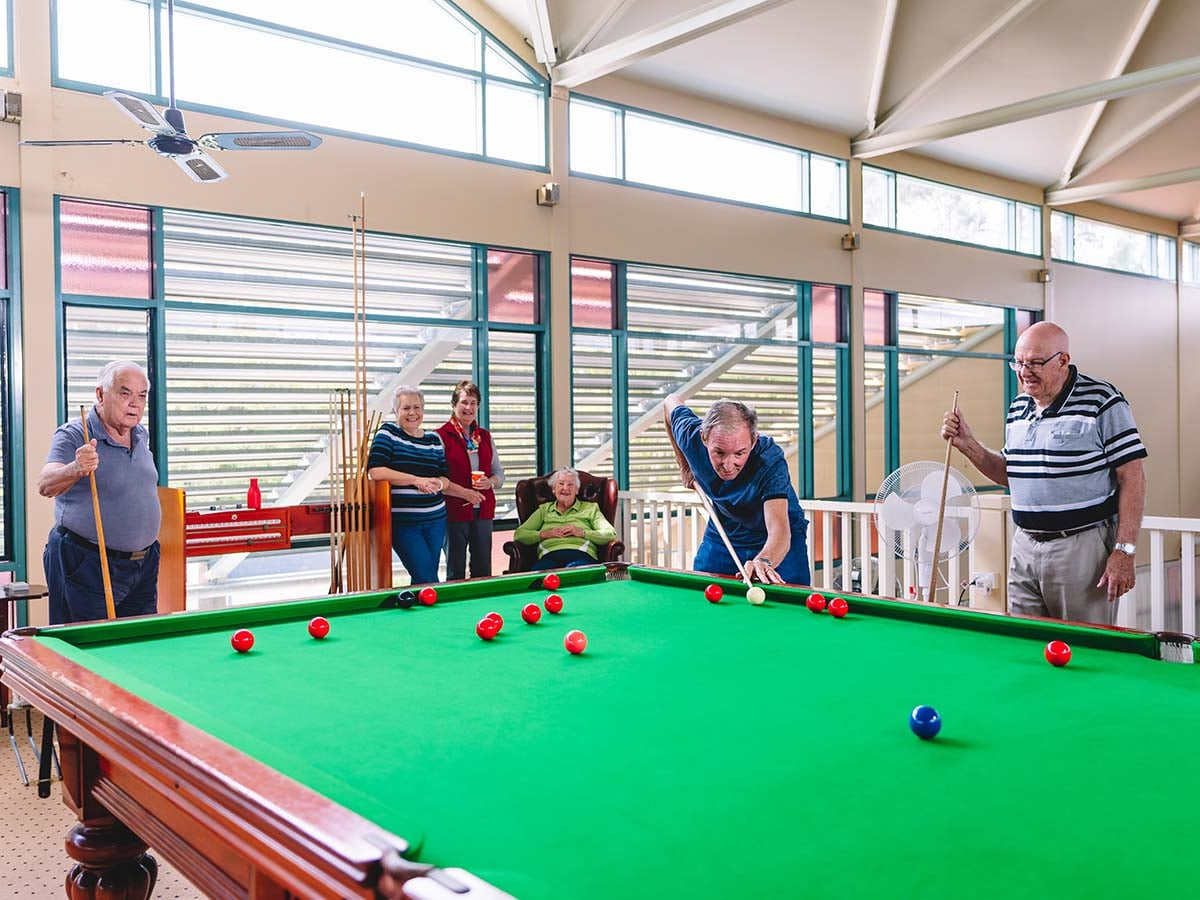 There is always something to do in the community centre