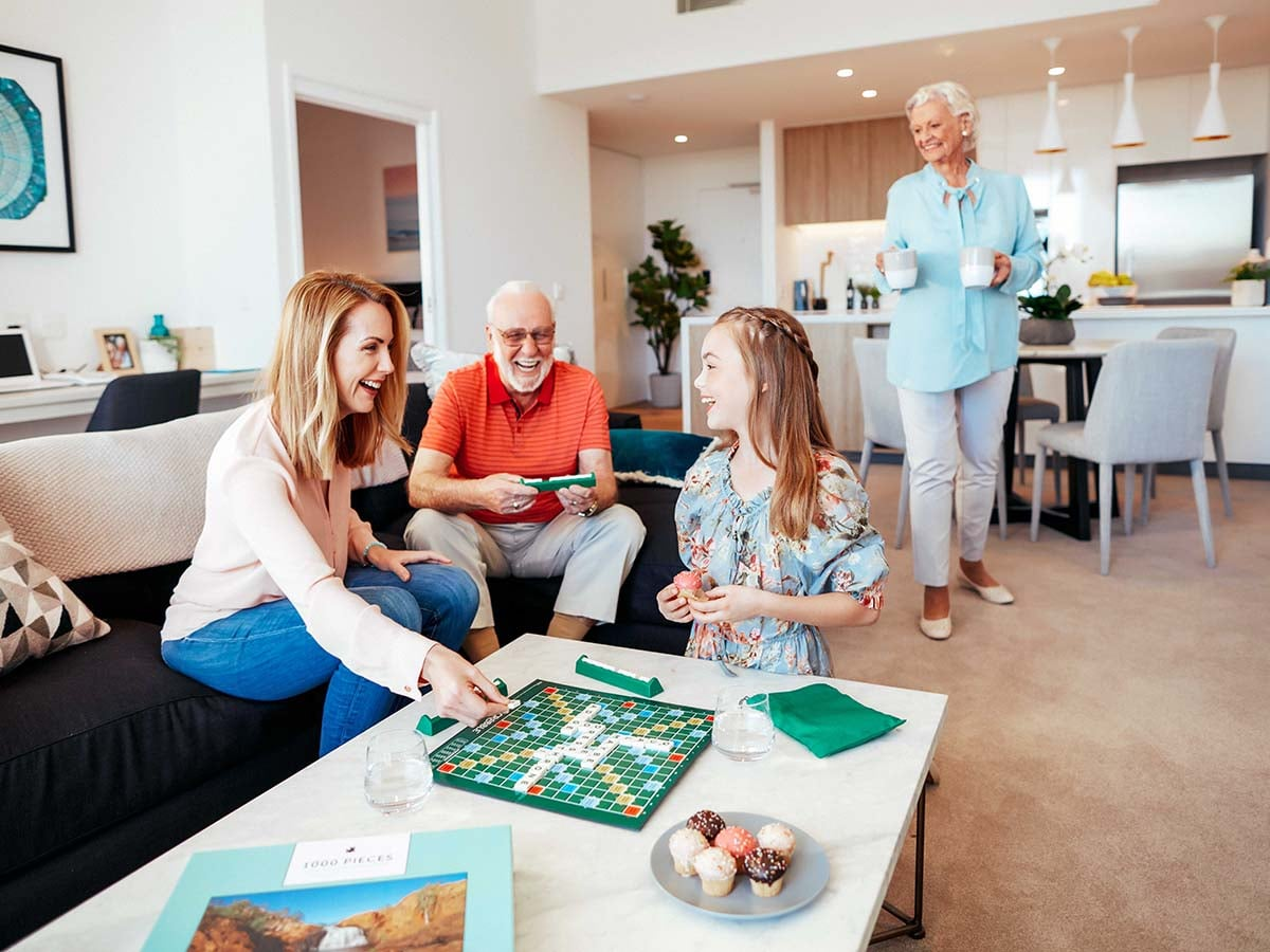 Entertain family and friends in your spacious home