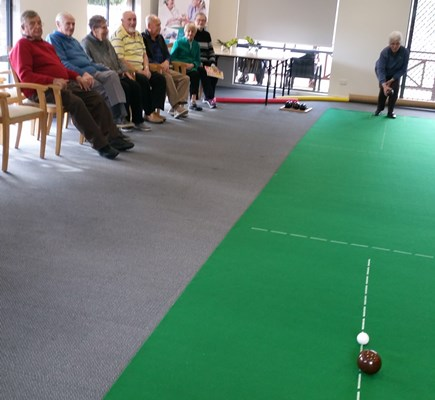 Tuesday Indoor Bowls at Melrose Park Community