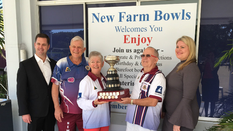 Aveo Newstead sales team will be bowling them over at the Twamley Cup!