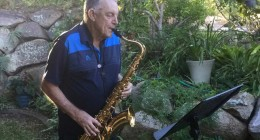 Resident saxophonist serenades at Aveo Cleveland