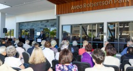 Aveo Robertson Park new stage official opening
