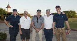 Golfers tee off for breast cancer research