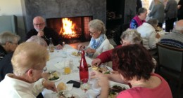 Aveo Camden Downs residents enjoy winter barbeque