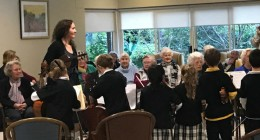 The Manors of Mosman residents treated to a musical performance