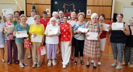 Aveo residents becoming experts in Tai Chi
