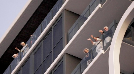 Aveo Newstead residents enjoyed happy hour from their balcony