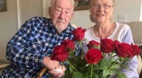 Heinz and Ingrid recently celebrated their 70th wedding anniversary