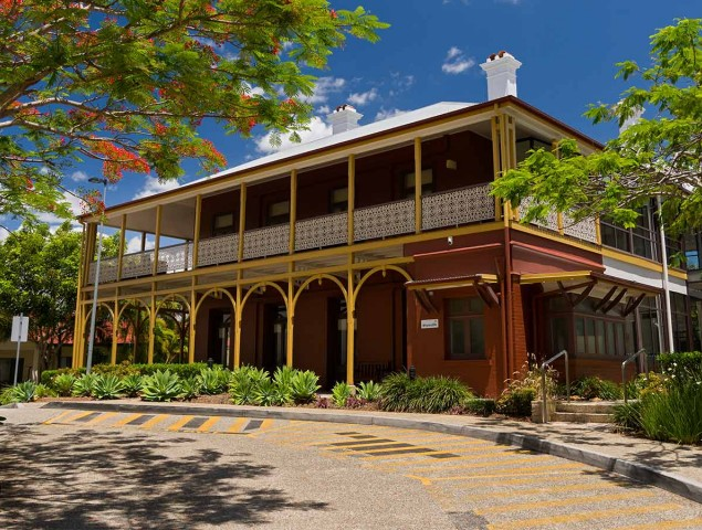 Surrounded by beautiful heritage listed buildings