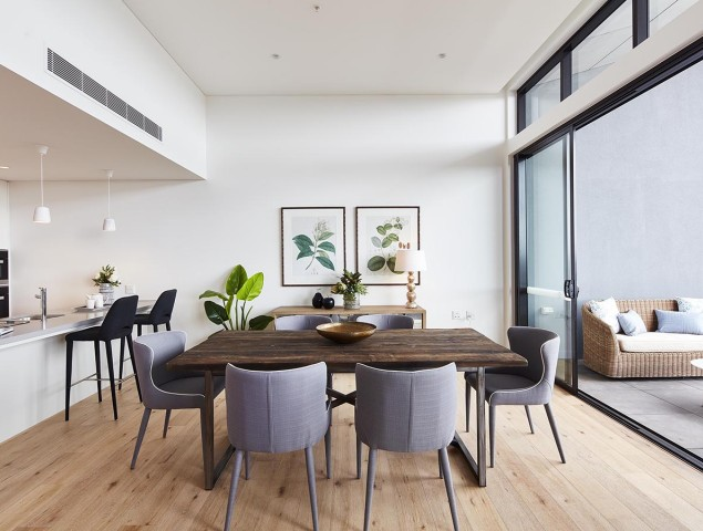 Generous and thoughtfully designed apartments