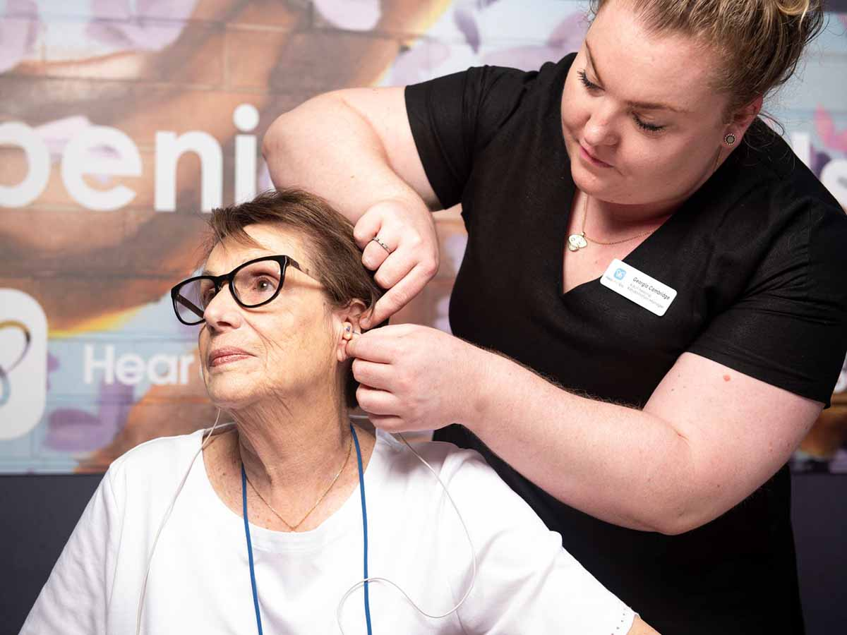 Aveo's hearing support service for seniors across Queensland